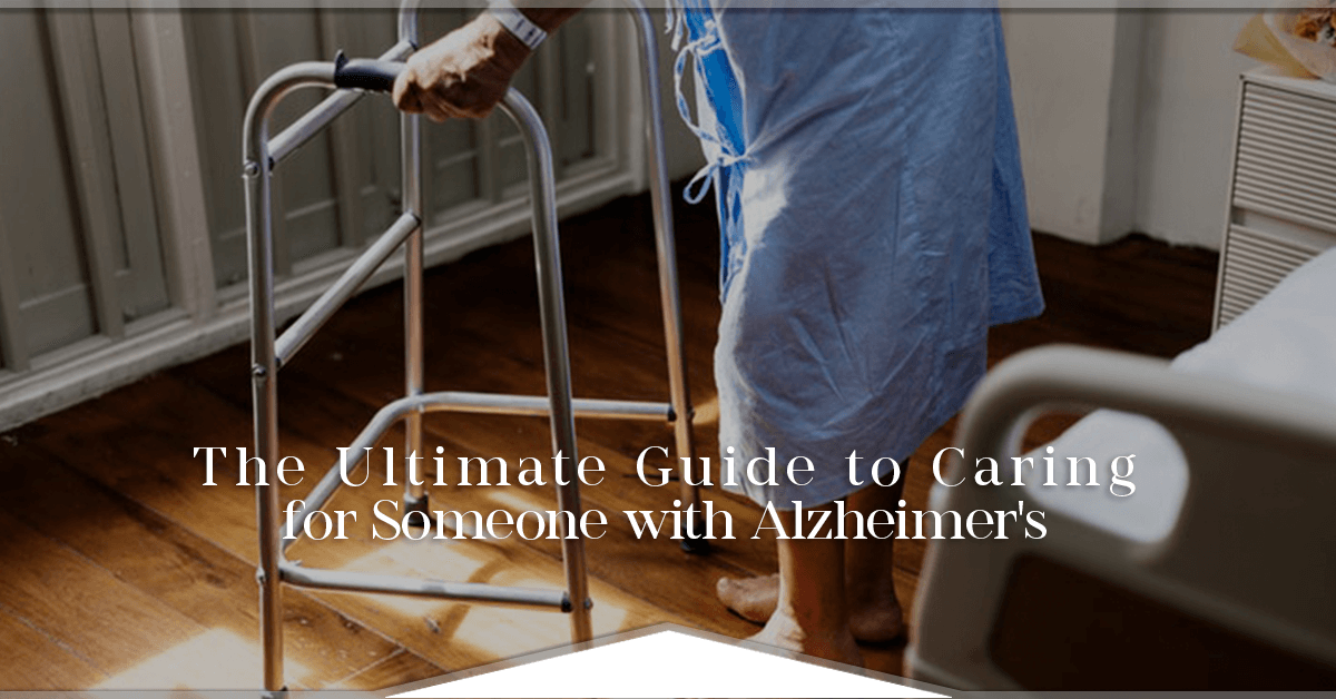 caring for someone with Alzheimer's cover