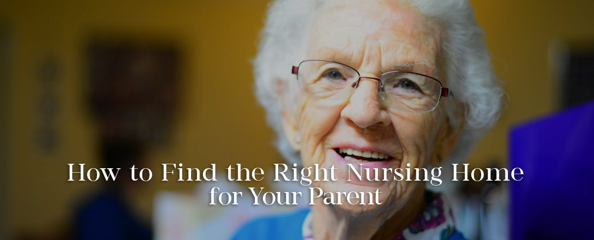 find the fight nursing home banner