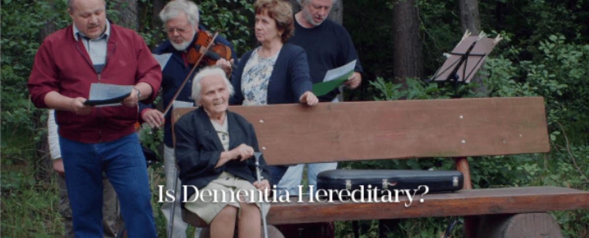 is dementia hereditary