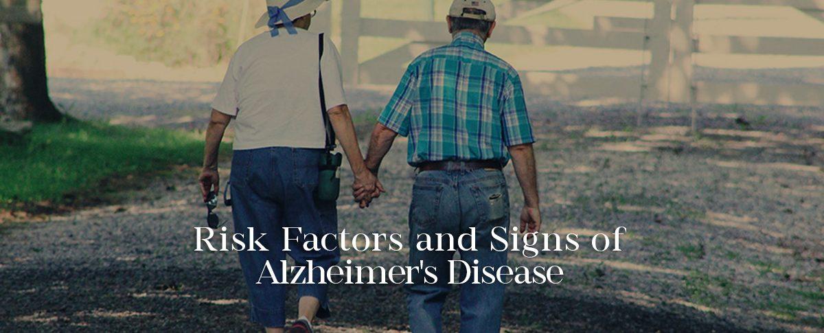 risk factors of Alzheimer's